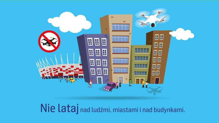 """Zgoda na loty dronem w strefie """"R"""" czyli legalnie nad miastem."""