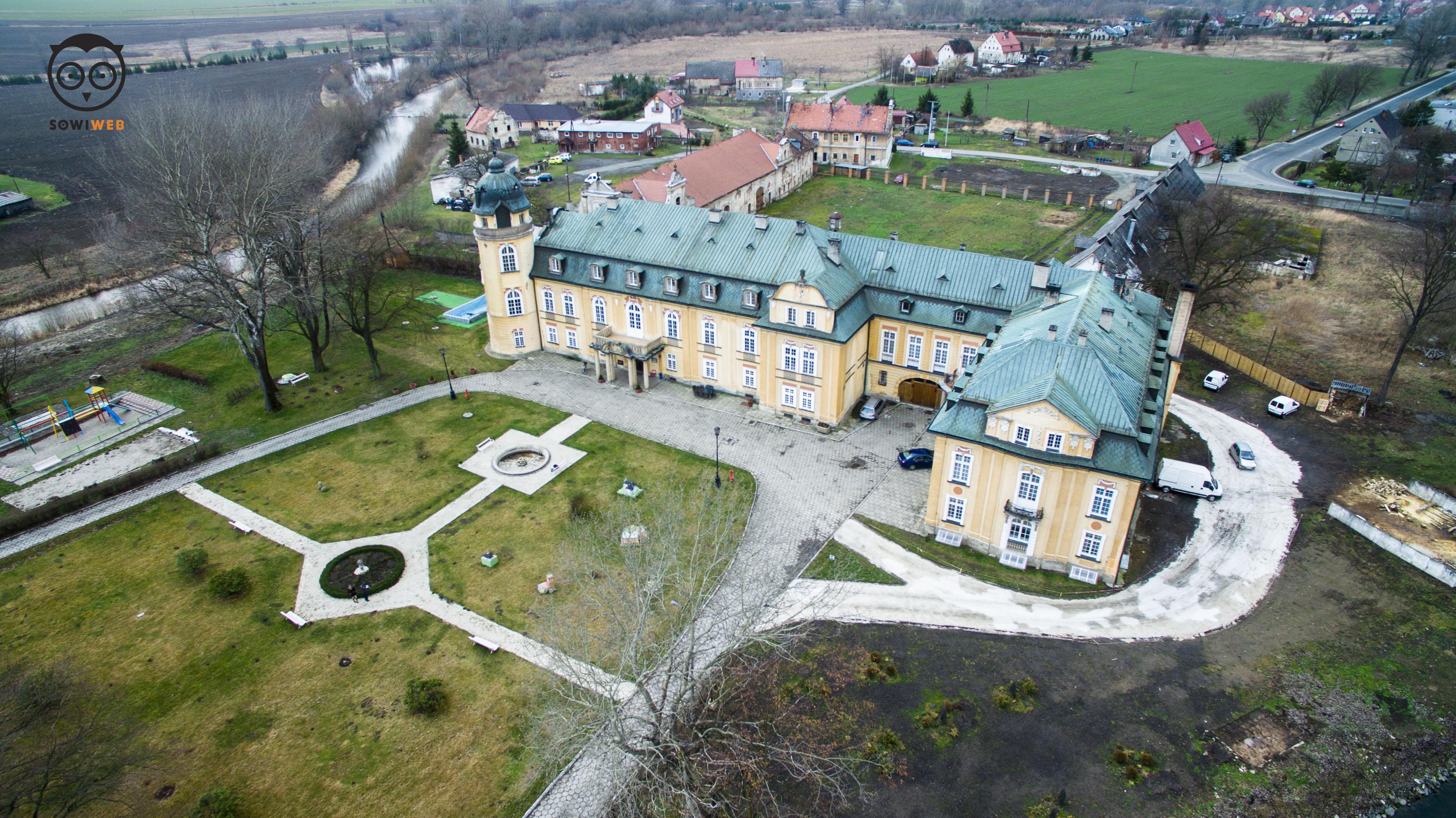 Dron SowiWeb w Żelaźnie k. Kłodzka