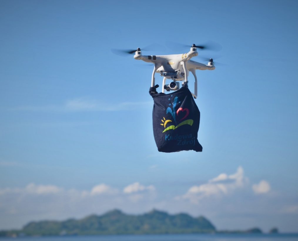 Filmowanie z powietrza dronem. Kudowa- Zdrój