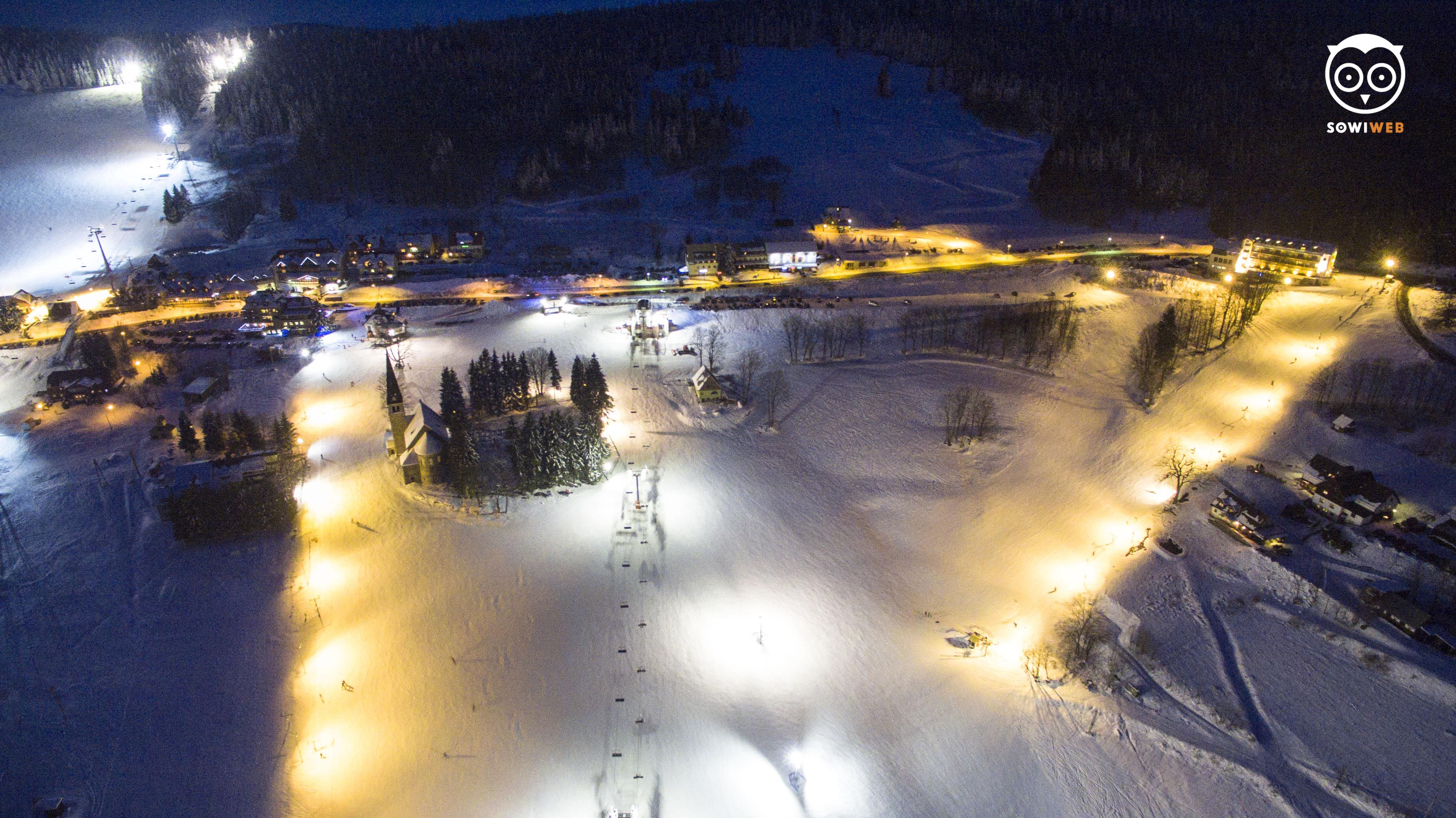 Fotografia dronem SowiWeb w Zieleńcu