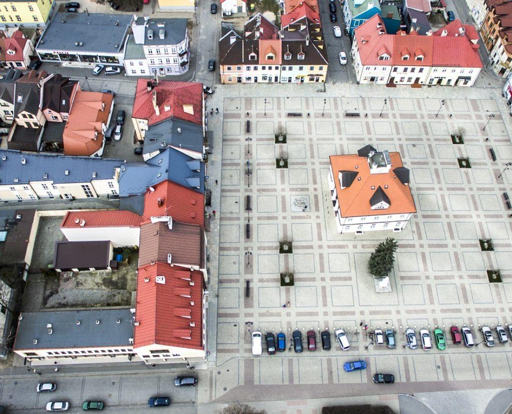 Fotografia dronem w Łęczycy
