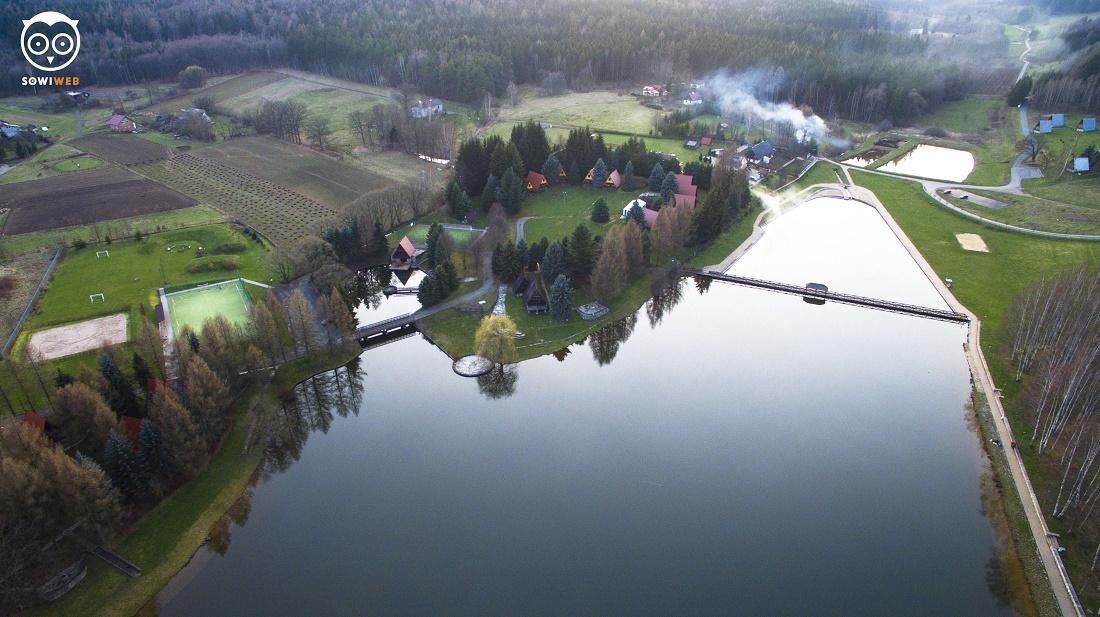Dronem SowiWeb w Radkowie