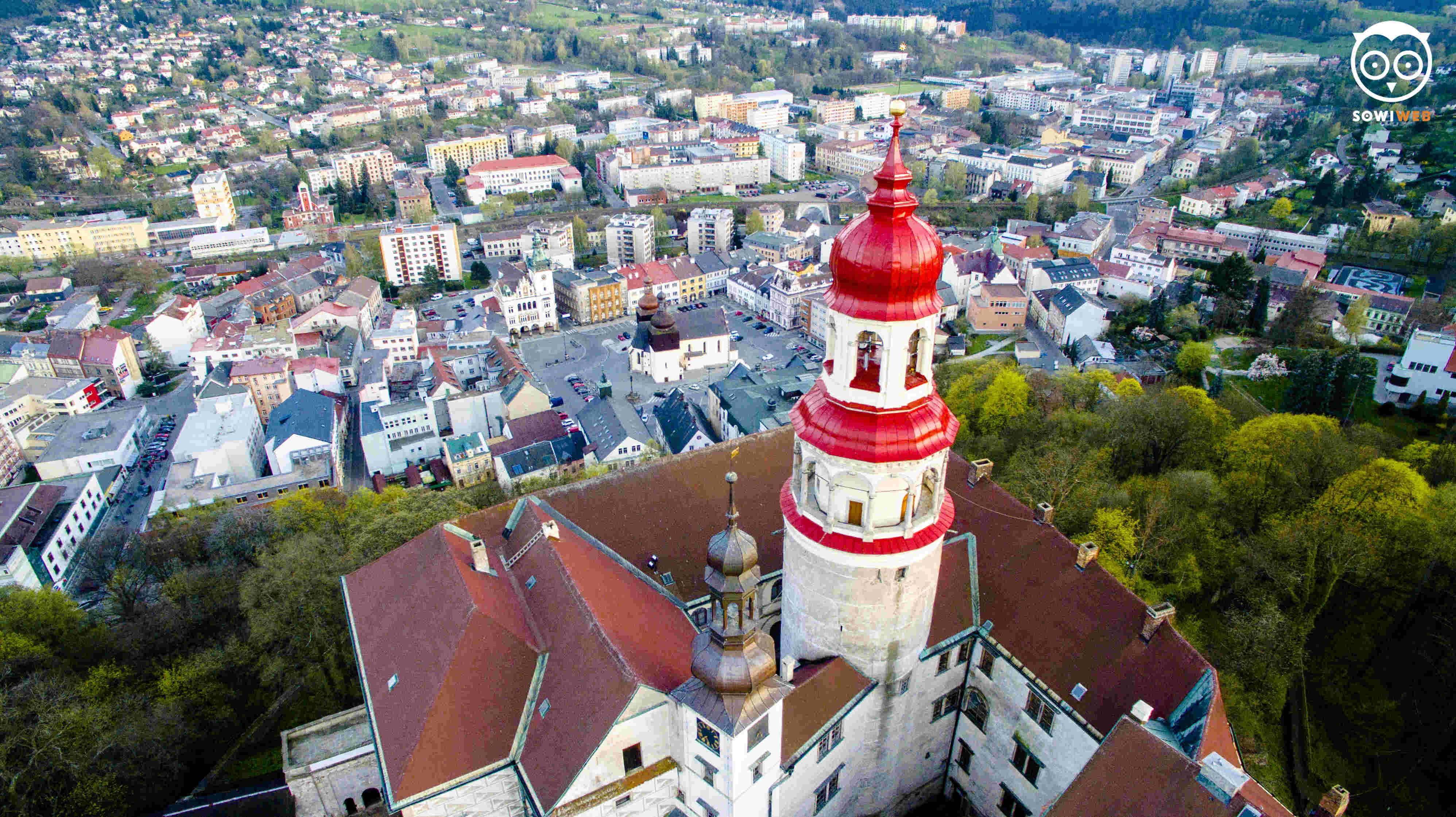 Dronowe hobby, czyli fotografujemy w Czechach