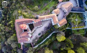 Dronowe hobby - Zamek w Nachodzie