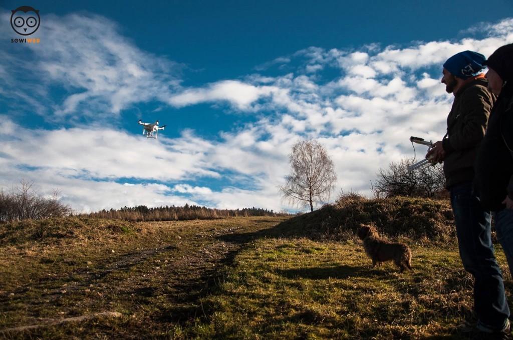 Ekoaronia z lotu drona