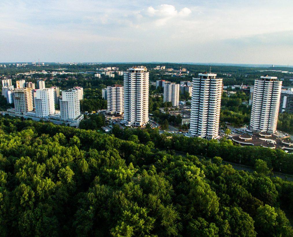 Zielone Katowice, kukurydze i dron