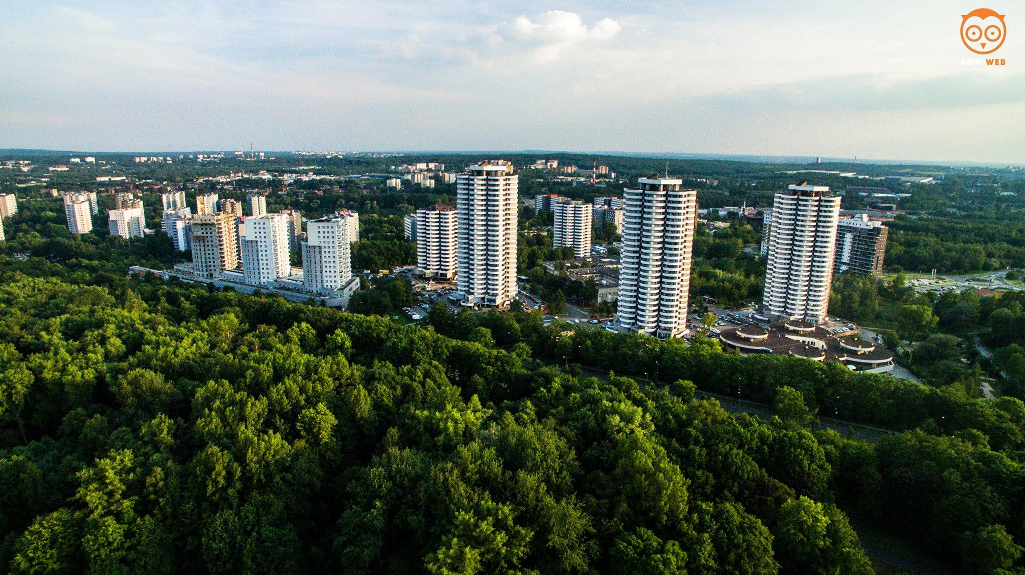 Zielone Katowice, Kukurydze i dron.