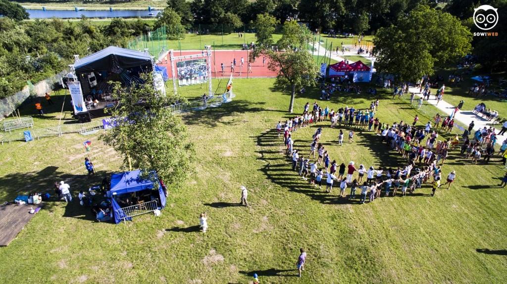 Światowe Dni Młodzieży z lotu drona