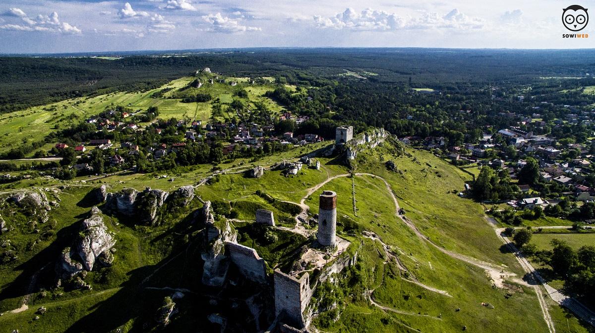 Dronem Częstochowa i Olsztyn