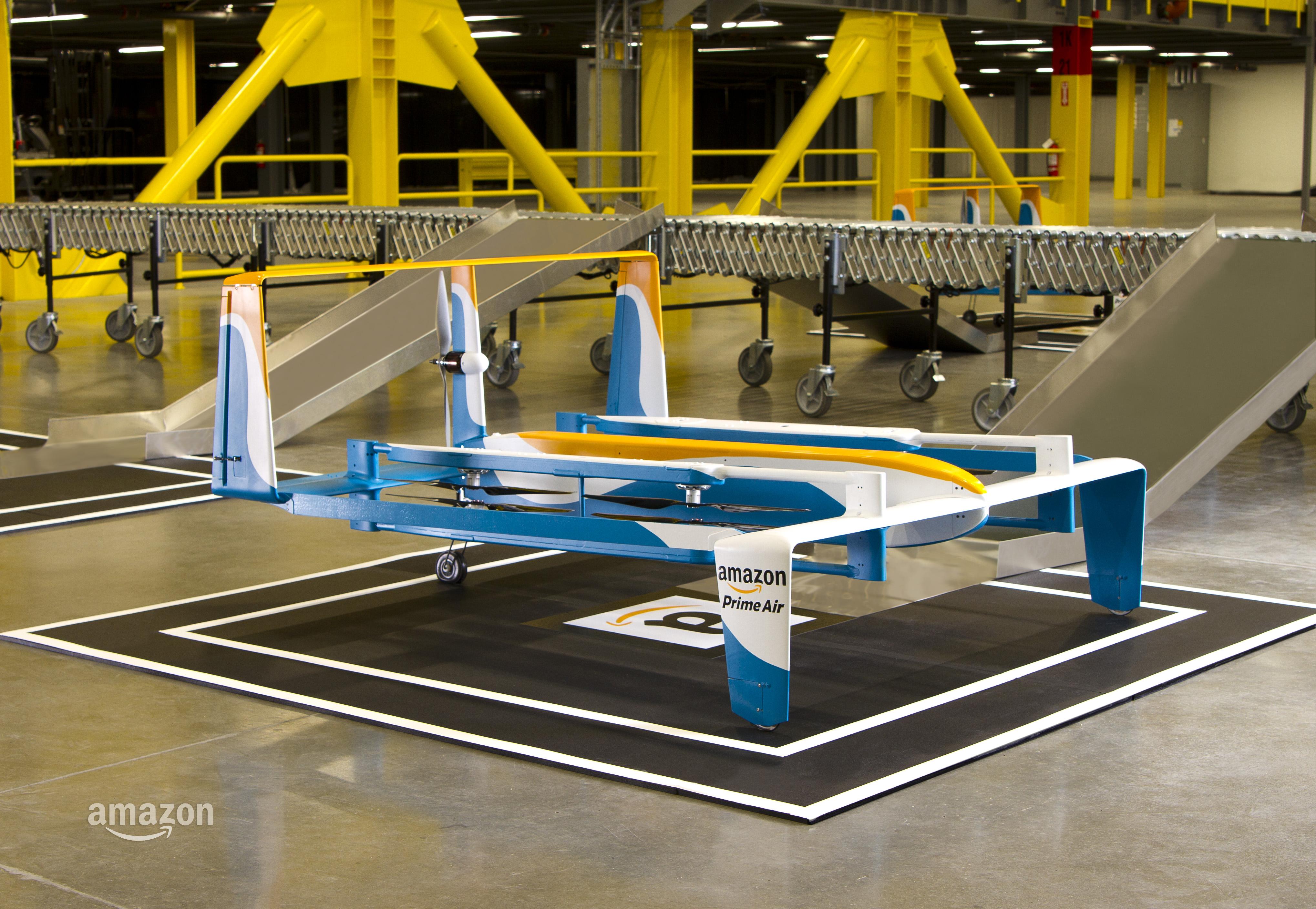 Dostawa zakupów dronem