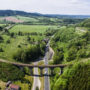 Fotografia dronem terenu i atrakcji turystycznych
