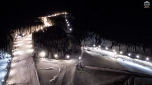 Nocne jazdy w Czarnej Górze