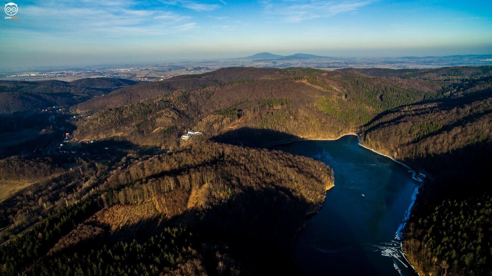 Jezioro Lubachowskie cz. 1 – wyprawa z dronem