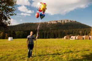 balony z helem kudowa