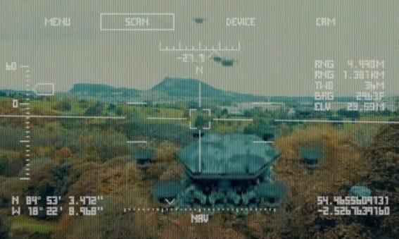 Autonomiczne drony