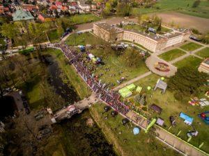 Rydzyna z drona naI Etapie Grand Prix Kaczmarek Electric MTB