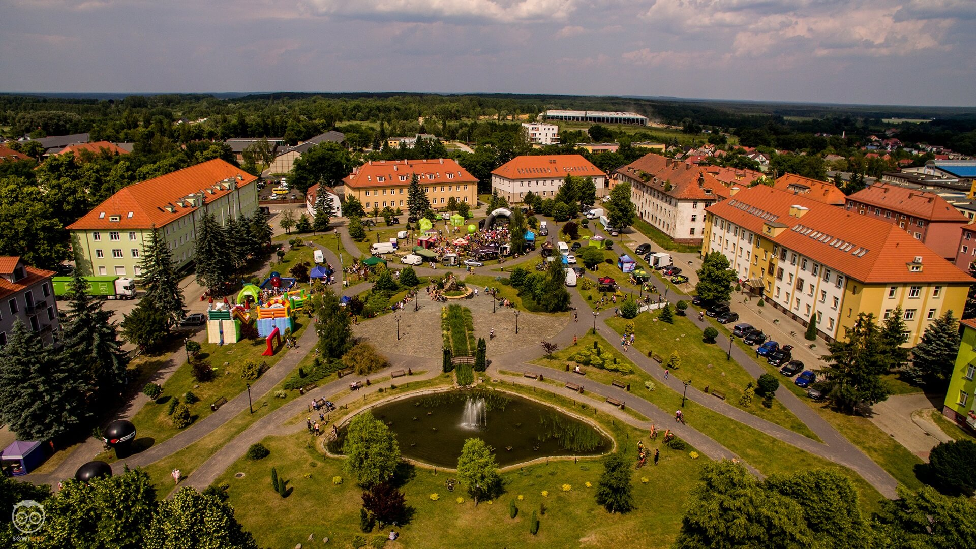 Krosno Odrzańskie – dron SowiWeb w akcji – MTB Kaczmarek Electric