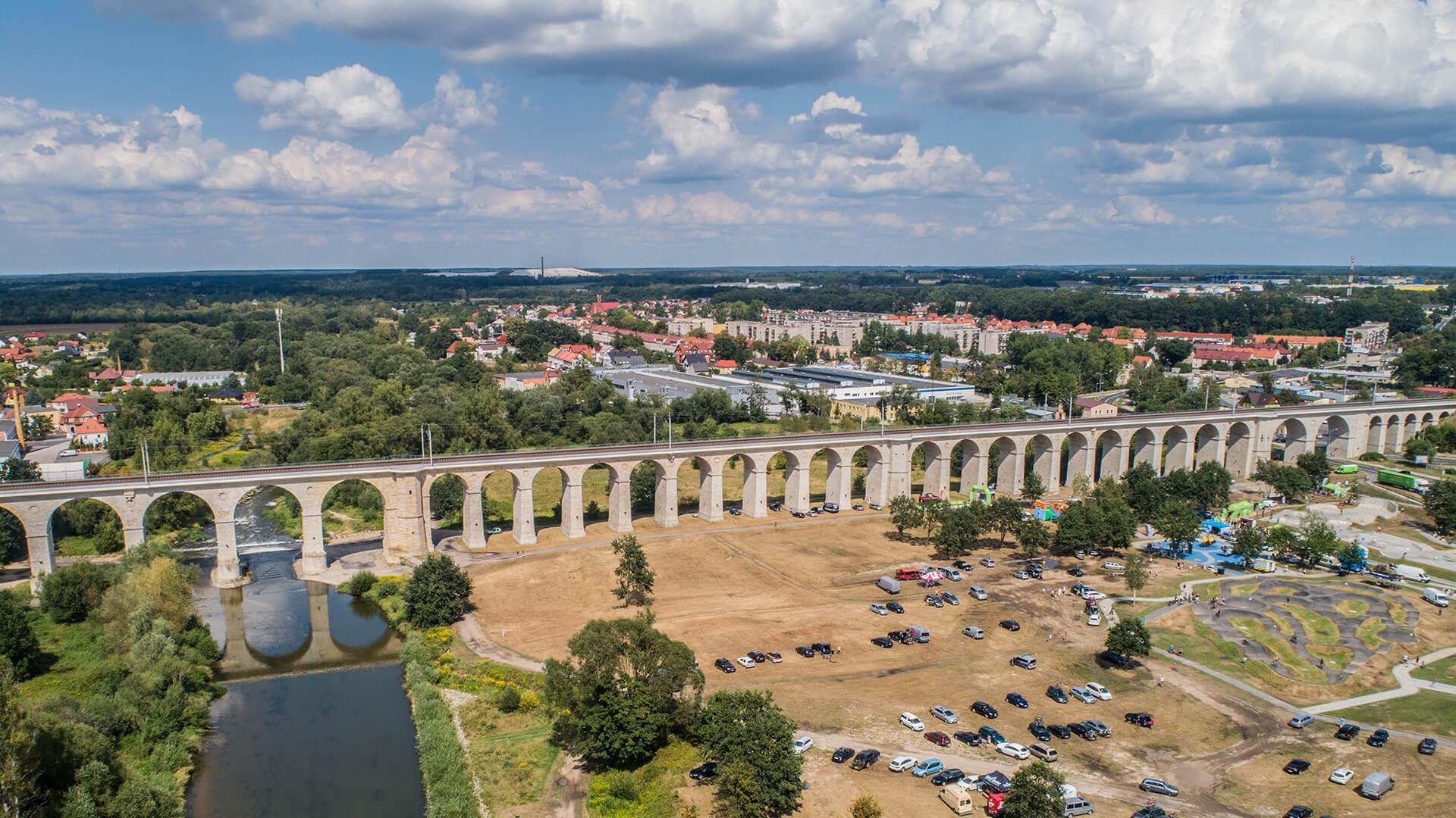 Bolesławiec – najdłuższy wiadukt kolejowy w Polsce, naj….