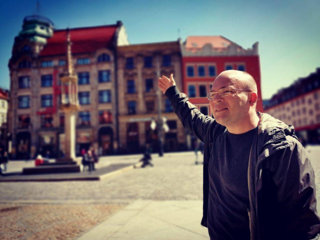 Przewodnik po Wrocławiu w języku rosyjskim_Oleksander Pestrykov