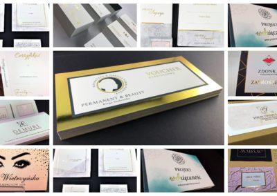 Pozłacany druk - srebro i złoto na materiałach reklamowych i okolicznościowych